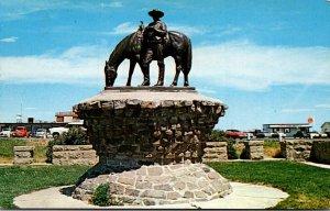 Montana Billings The Range Rider Of The Yellowstone Statue