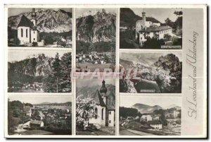 Old Postcard St Leonhard Untersberg