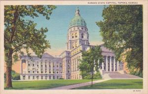 State Capitol Building Topeka Kansas Curteich