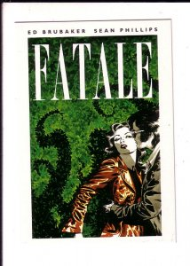 Fatale, Crime Comic Book, Ed Brubaker Sean Phillips, Advertising Postcard,