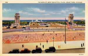 IL - Chicago. Grant Park Plaza