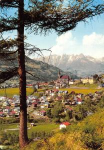 St Johann im Pongau gegen Tennengebirge Land Salzburg Kirche Berg