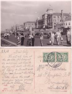 Scheveningen Holland Cabaret Show Bicycles 1908 Exhibition 2x Postcard s
