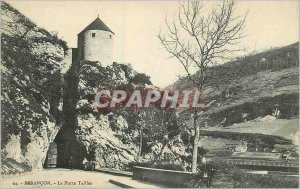 Postcard Besancon Old Gate Taillee