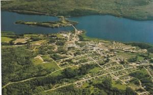 Aerial View, BURNS LAKE, British Columbia, Canada, 40-60´