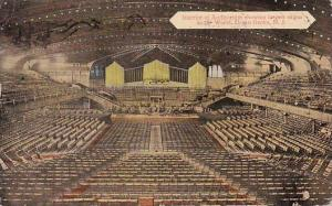 New Jersey Ocean Grove Interior Of Auditorium Showing Largest Organ In The Wo...