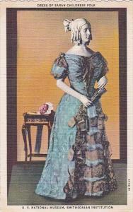 Dress Of Sarah Childress Polk U S National Museum Smithsonian Institution Cur...