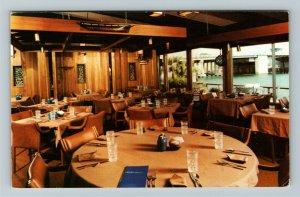 Madeira Beach FL- Florida, Gene's Lobster House, Restaurant, Chrome Postcard