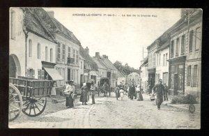 971 - AVESNES-LE-COMTE France [62] P-de-C 1910s Le Bas de la Grande Rue