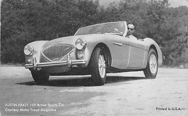 Austin Healy 100 British Sports Car Arcade Movie Star Unused