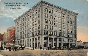 LP98   Akron Ohio First Second National Bank      Postcard