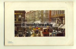 tp8527 - London - Busy Morning at Cheapside, by Mappin & Webb- Postcard - Tuck's