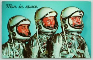 Kennedy Space Center Florida~NASA~Grissom~Glenn~Shepard~Ready for Launch~1970s