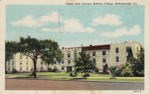 MILLEDGEVILLE, Georgia, 1930-40s, Vinson Hall, Georgia Military College