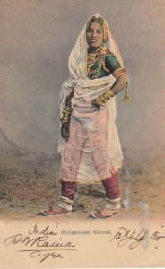 INDIA , 00-10s ; Mohamedan Woman