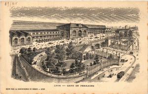 CPA LYON-Gare de Perrache (426735)