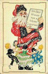 My Best Wishes For A Merry Christmas - Santa Claus 04.27