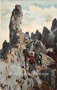 Mountain Climbers Mountain Climbing 1910