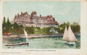 TACOMA, Washington, 1901-07; Hotel Tacoma