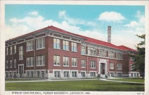 Indiana Lafayette Stanley Coulter Hall Purdue University Curteich