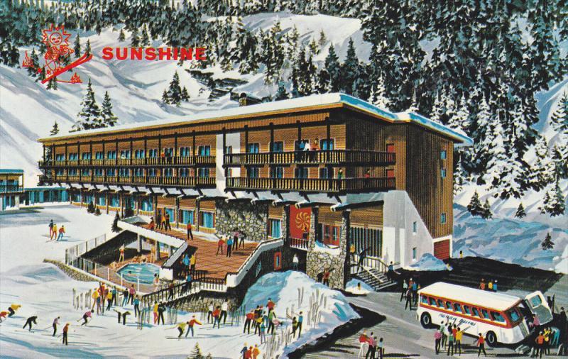 Sunshine Inn , BANFF , Alberta , Canada , 50-60s
