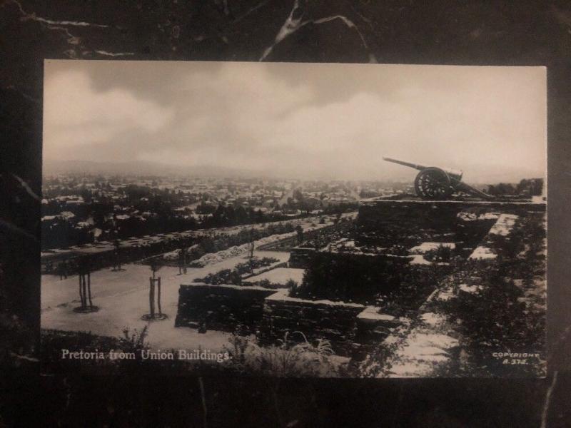 Mint South Africa  RPPC Postcard Pretoria From Union  Buildings