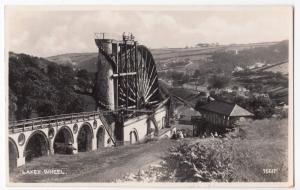 IOM; Laxey Wheel RP PPC, By Photochrom, Douglas PMK 1950