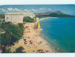 Pre-1980 HOTEL SCENE Waikiki - Honolulu Hawaii HI H0802