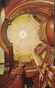 Main Staircase Dome Bishop's Palace Victorian Home Galveston Texas