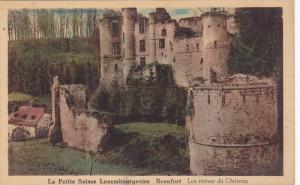 Les Ruines Du Chateau, Beaufort, La Petite Suisse Luxembourgeoise, 1910-1920s