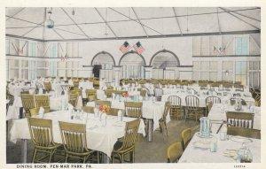 PEN-MAR PARK , Pennsylvania , 1910s ; Dining Room