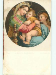 Divided-Back RELIGIOUS SCENE Christianity Postcard AB0136