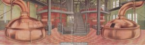 The HAMM Brewing Company , ST PAUL , Minnesota , 1910 ; Bi-fold , Interior , ...