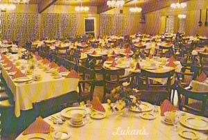 Restaurant Lukan's Farm Resort Dining Room Hawley Pennsylvania