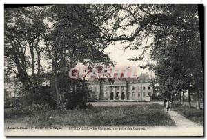 Old Postcard Luneville Chateau Vue Prize Bosquets