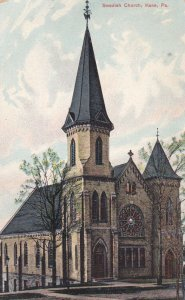 KANE, Pennsylvania, PU-1909; Swedish Church