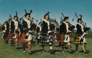 NEW GLASGOW, Nova Scotia , 1950-60s ; Girls' Highland Pipe Band