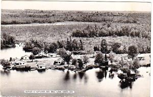 RPPC - Newton's Cottages, Big Gull Lake, Arden Ont