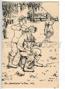 191109 WWI POLAND GERMAN PROPAGANDA by Schellmann barber Old