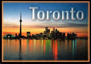 Canada Toronto Skyline At Night