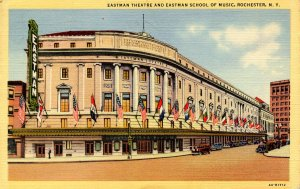 NY - Rochester. Eastman Theatre & Eastman School of Music