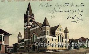 White Temple, First Baptist Church Portland OR 1909