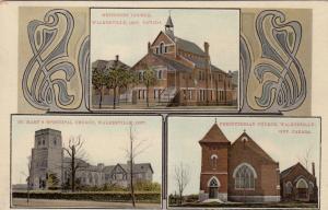 WALKERVILLE , Ontario, Canada, 1910 ; Churches