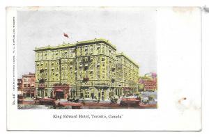 Ontario Canada Toronto King Edward Hotel Vintage MacFarlane Postcard