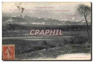 Postcard Old Labarthe Neste Htes Pyr La Chaine des Pyrenees Pic du Midi