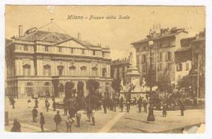 Piazza Della Scala, Milano (Lombardy), Italy, 1900-10s