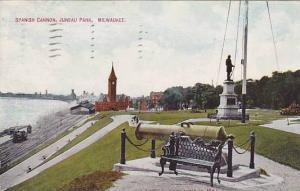Spanish Cannon, Juneau Park, Milwaukee, Winsconsin, PU-1909