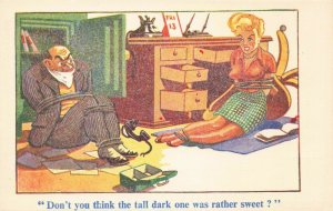 Comic Postcard Garland, Rudolf & Co. W132, Seaside Joke, Humour KK8