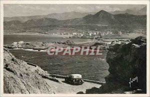 Old Postcard Ile Rousse general view