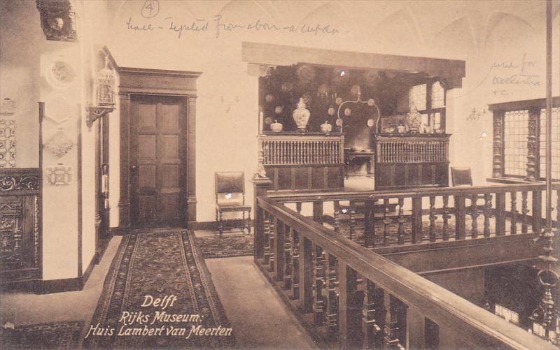 DELFT, Rijks Museum: Huis Lambert van Meerten, Soiuth Holland, Netherlands, 0...